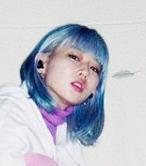 ポリン 青髪
